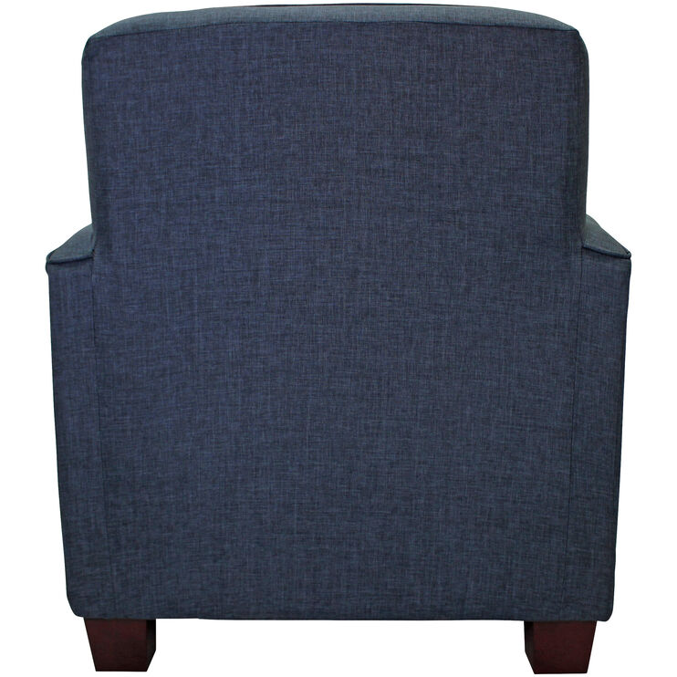 Johnston Navy Accent Chair
