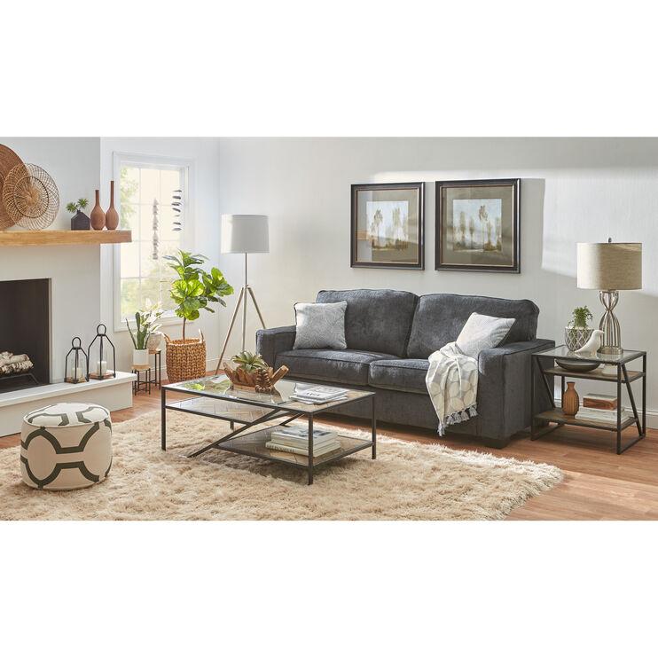 Amazing Riles Slate Sofa Slumberland Furniture Evergreenethics Interior Chair Design Evergreenethicsorg