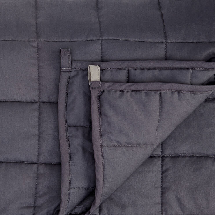 Zensory Dove Gray 20 Pound Weighted Blanket