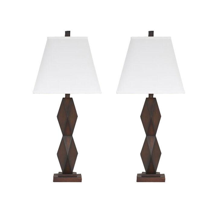Slumberland Furniture Natane Set Of 2 Table Lamps