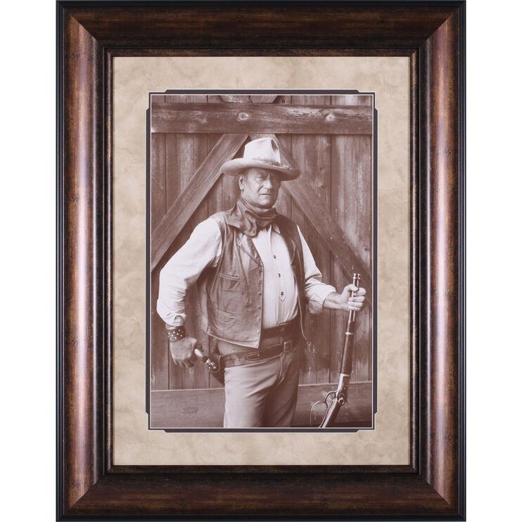 John Wayne Framed Art