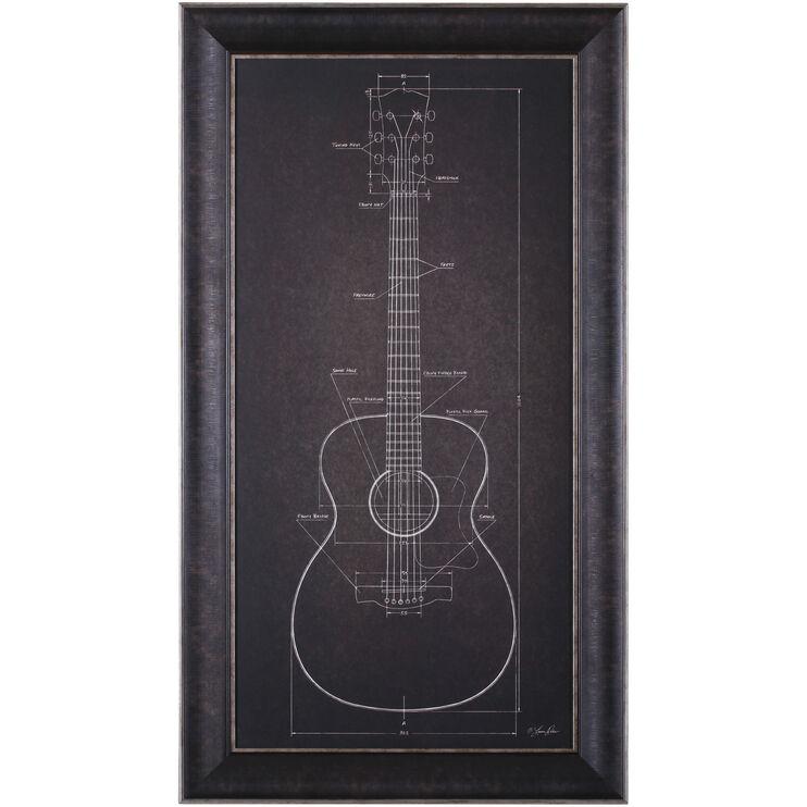 Guitar Acoustic Guitar Blueprint
