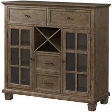 Charleston Barley Oak Storage Cabinet