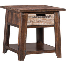 Painted Canyon Chestnut Accent Table