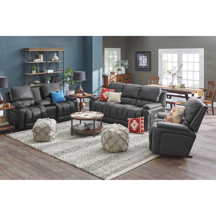 Greyson Charcoal Power Reclining Sofa