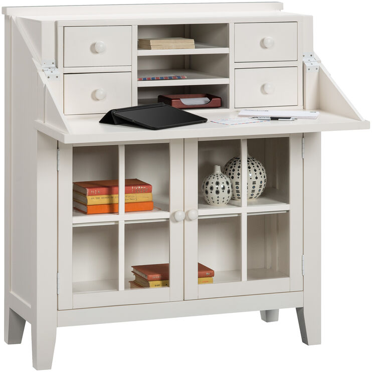Avery Linen Flip Top Desk