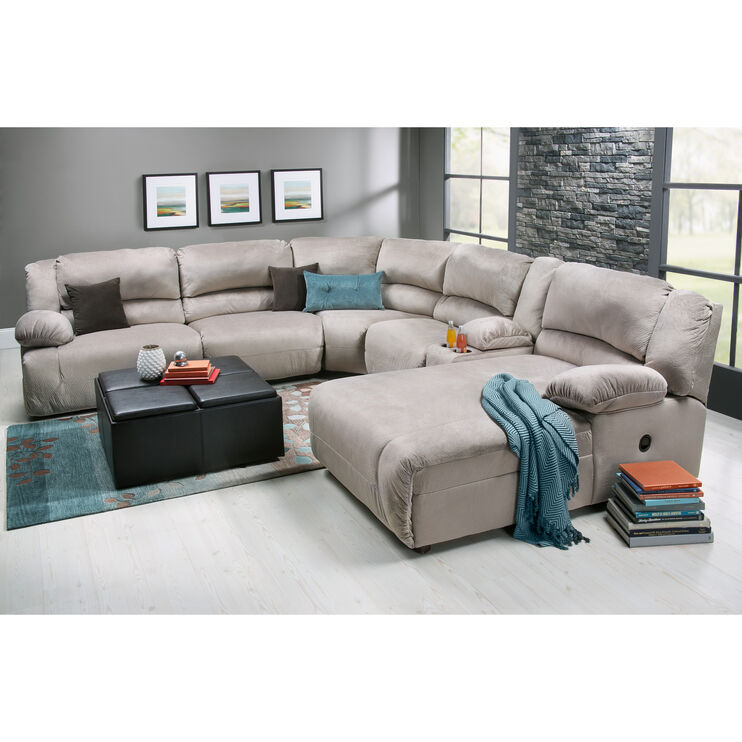 Slumberland Furniture Winston 6 Pc Right Chaise Sectional