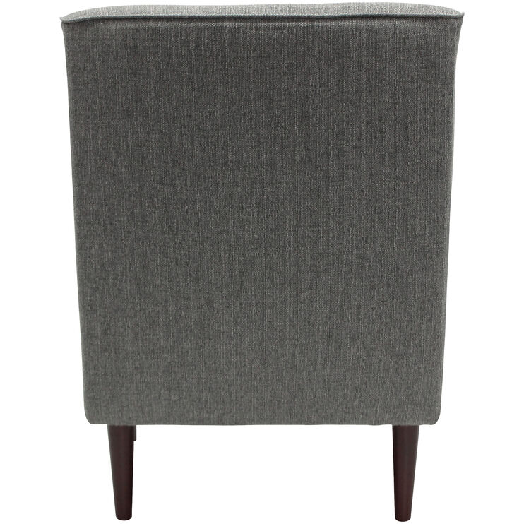 Magnificent Laura Gray Accent Chair Slumberland Furniture Machost Co Dining Chair Design Ideas Machostcouk