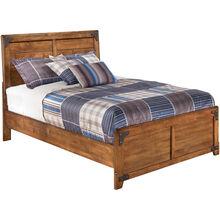 Delburne Brown Full Panel Bed