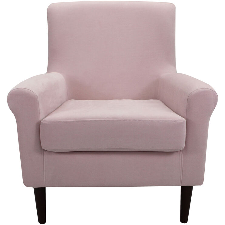 Ellis Blush Accent Chair
