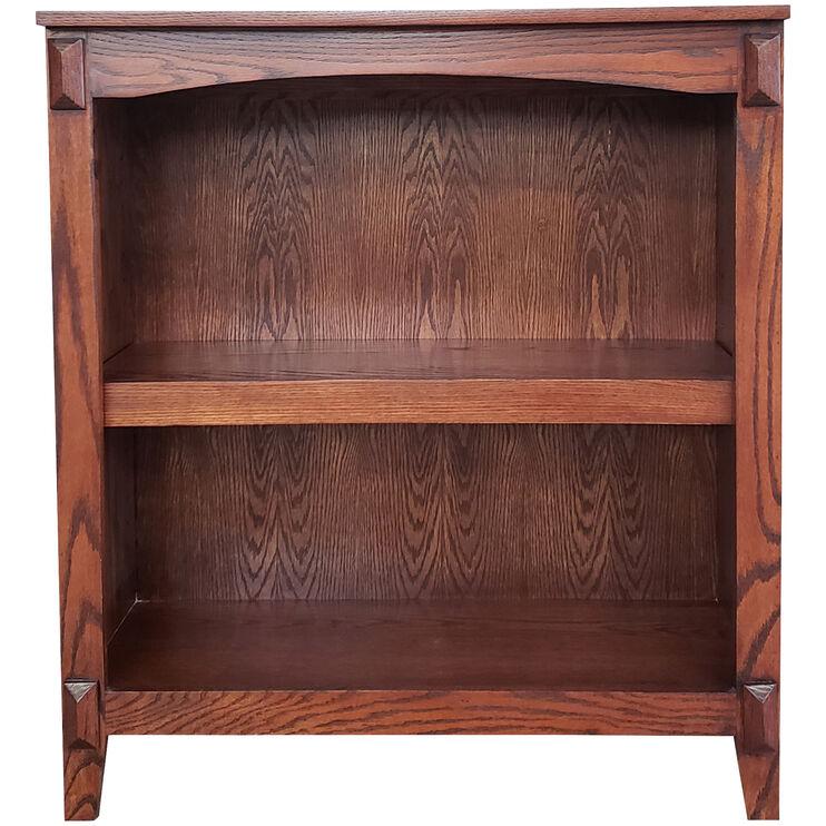 Hartford Burnished Oak 36 Inch Bookcase