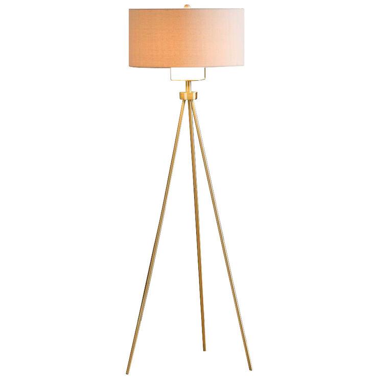 Pacific Gold Tripod Floor Lamp
