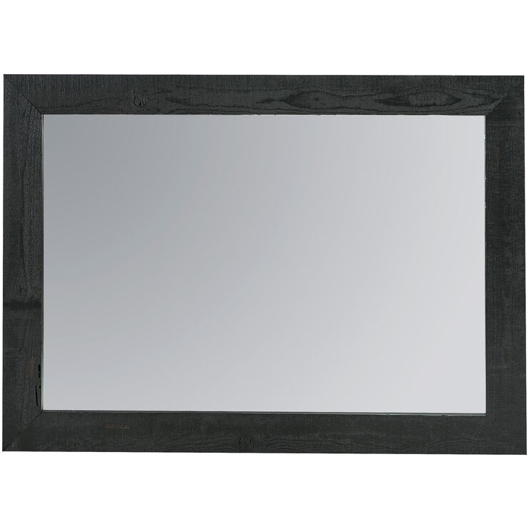 Willow Distressed Black Mirror