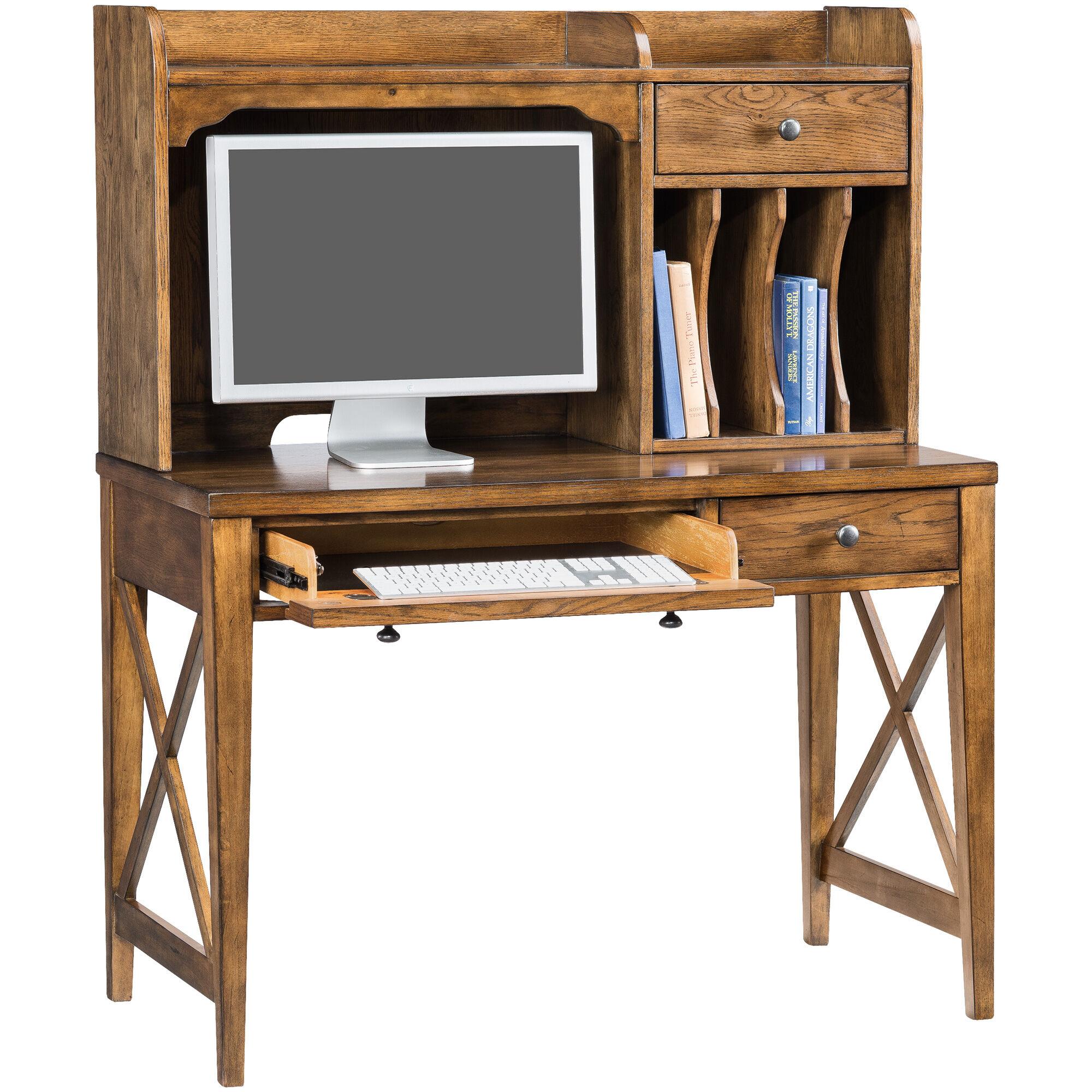 Hearthstone Rustic Desk W Hutch