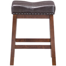 Kona Raisin 24 Inch Backless Bar Stool