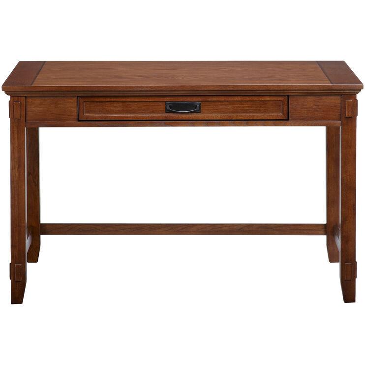 Cross Island Brown Small Desk