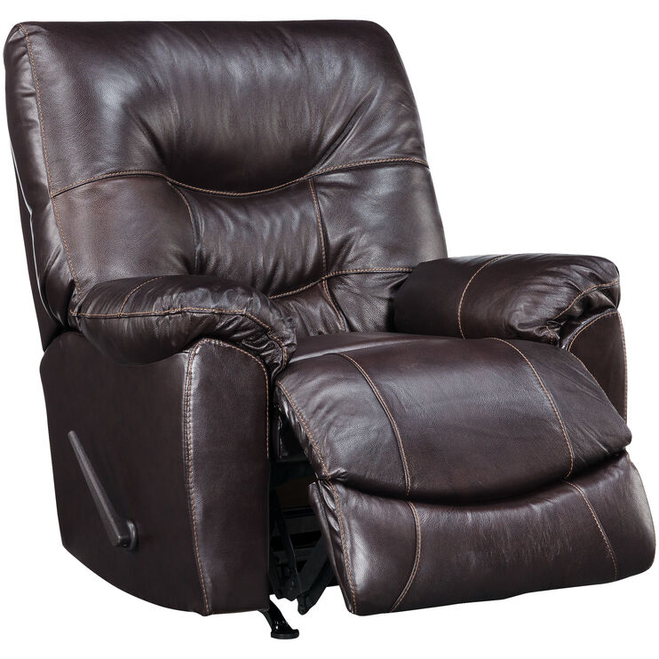 Slumberland Furniture Yogi Espresso Rocker Recliner