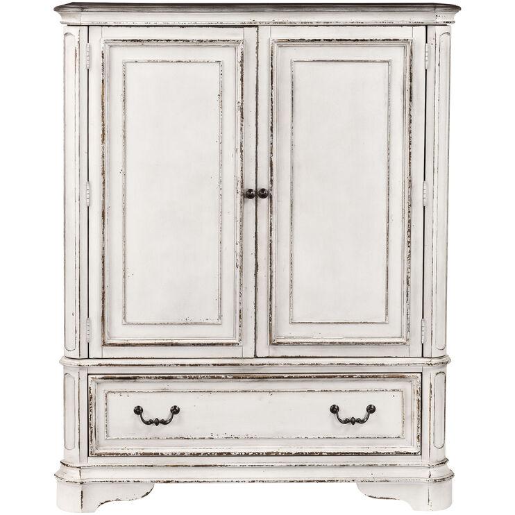 Magnolia Manor White Door Chest