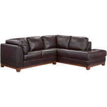Brooklyn Brown Right Chaise Small Sectl