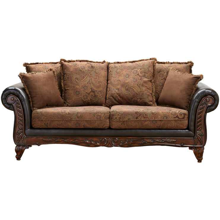 Heritage Raisin Sofa
