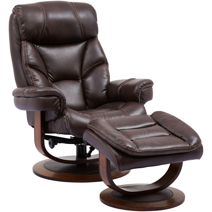 Belsay Swivel Lounger with Ottoman