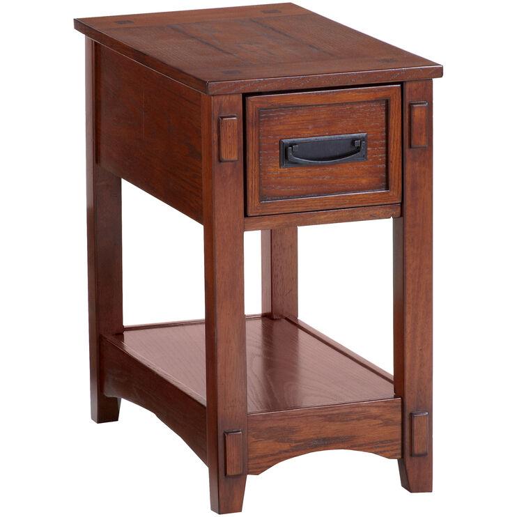 Cross Island Chairside Table
