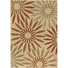 Heritage Halley Multi Bright Bursts 5 x 8 Rug