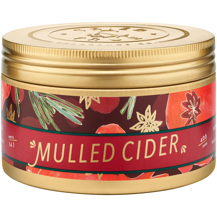 Tried and True Holiday Mulled Cider Large Tin Candle