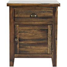 Artisans Craft Brown Accent Table