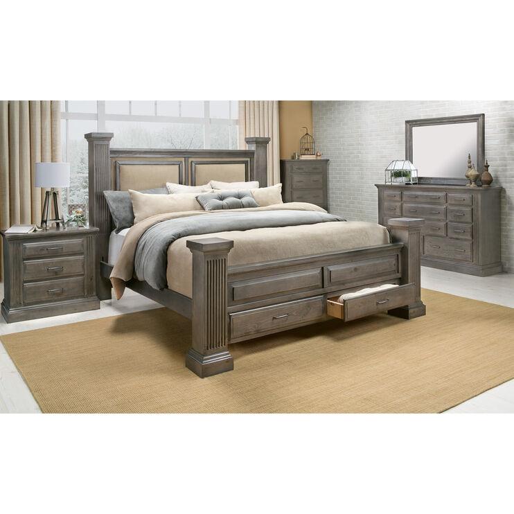 Fordham Ash King Storage Bed