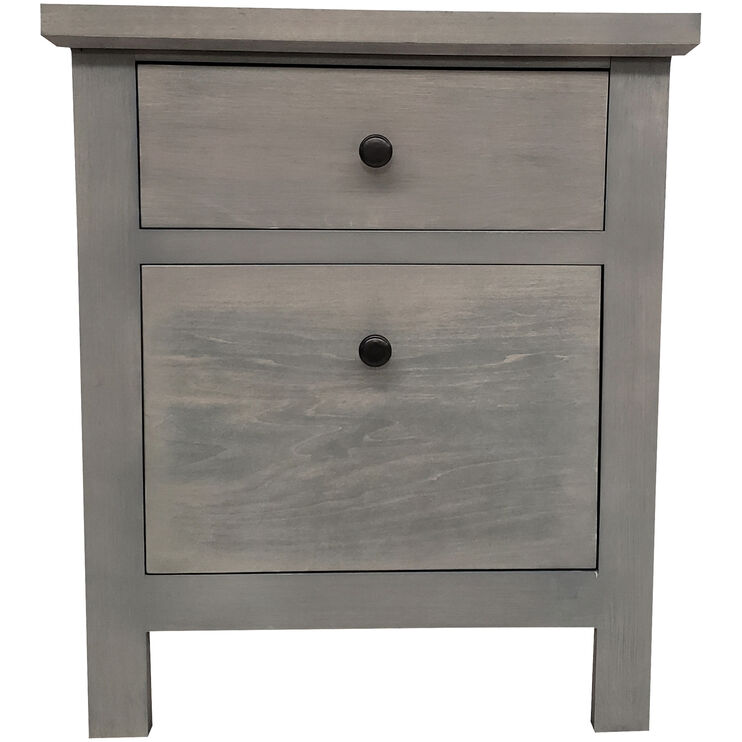 Classic Charcoal File Cabinet