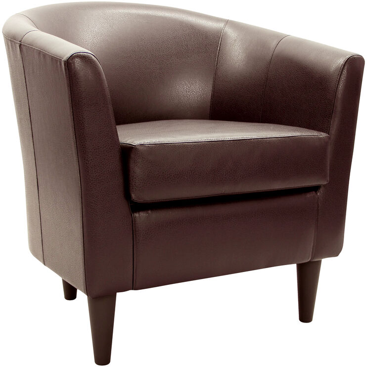 Windsor Brown Accent Chair