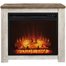 Willowton White Fireplace Mantel