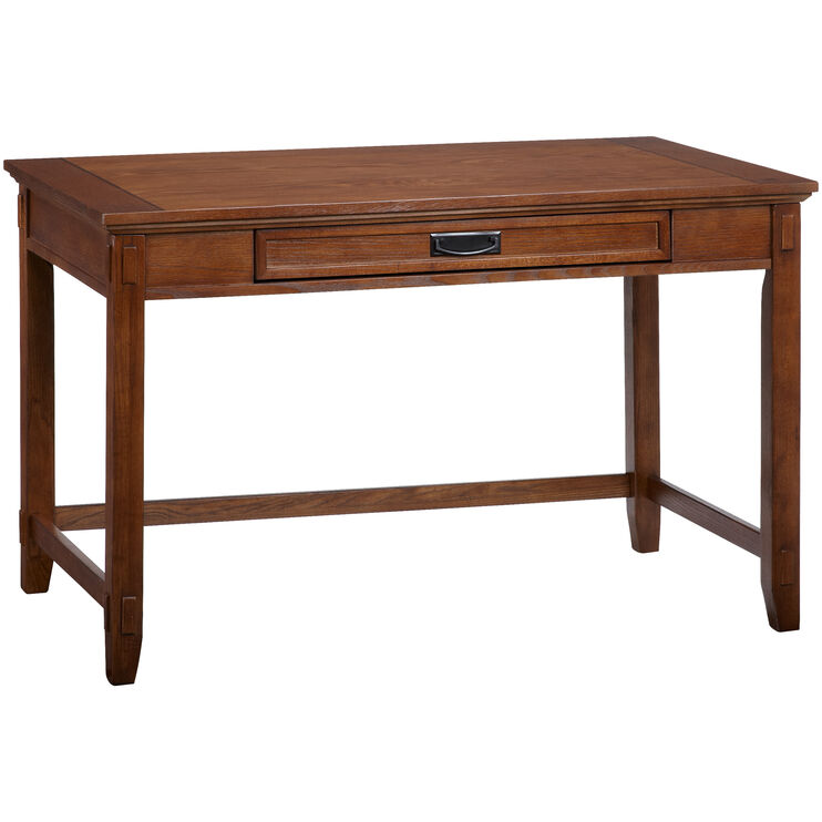 Cross Island Brown Small Desk