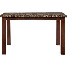 Marabela Medium Cherry Counter Table
