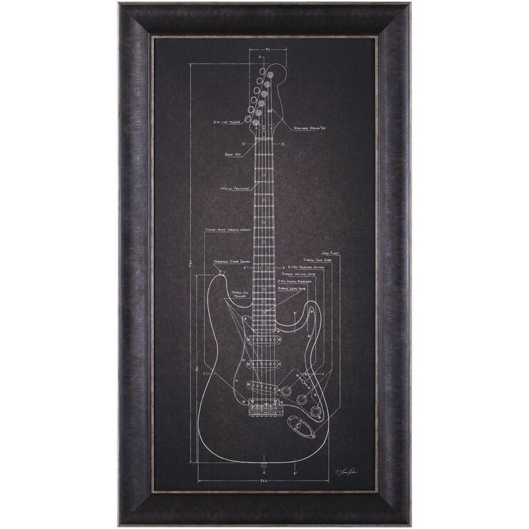 Guitar Electric Guitar Blueprint