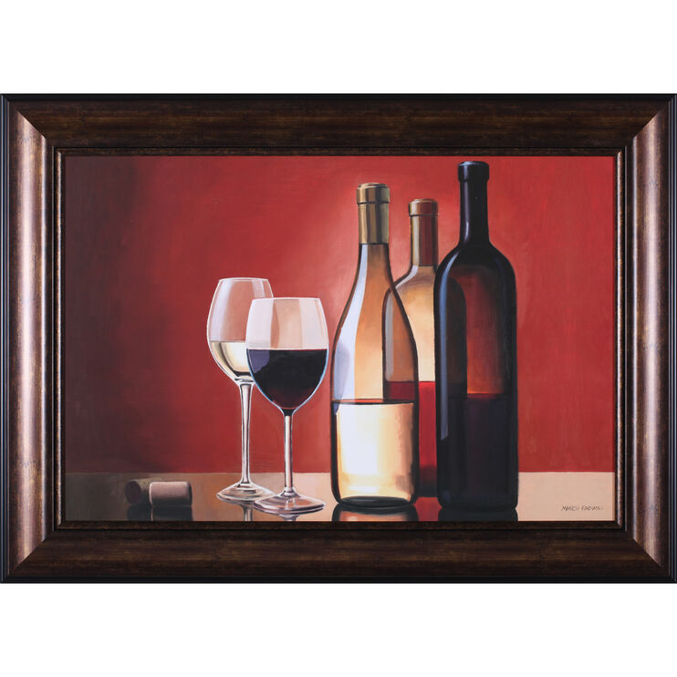 Wine Trio Framed Art