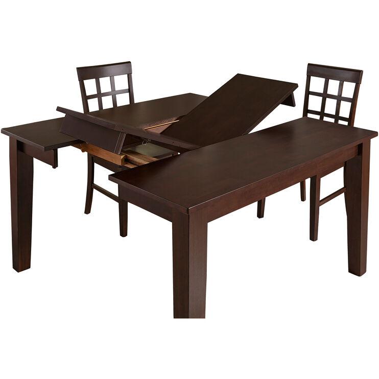 Kinston Espresso Dining Table