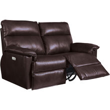 Jay Chocolate Power Reclining Loveseat