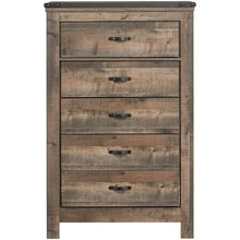 Trinell Rustic Plank Chest