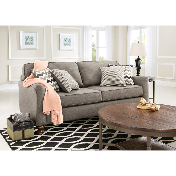 Slumberland furniture coleton ash sofa - Slumberland living room furniture ...