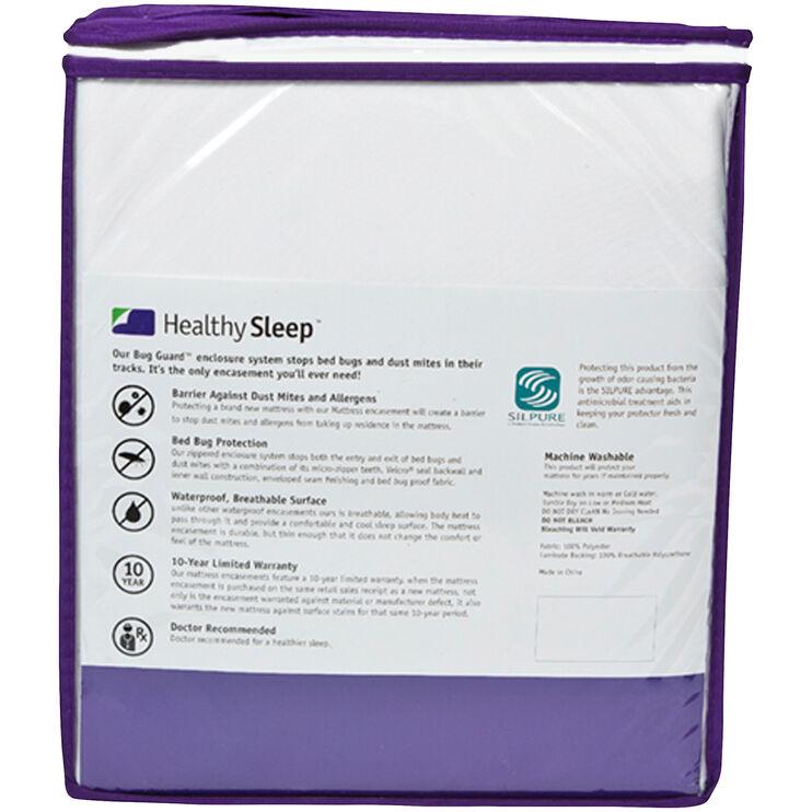 Healthy Sleep Twin Mattress Encasement
