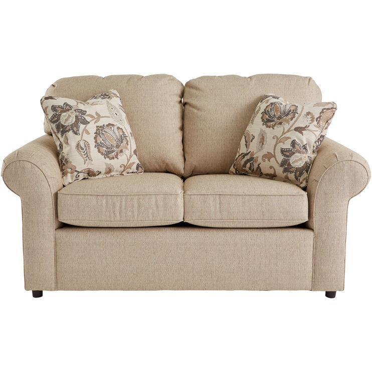 Burke Bisque Loveseat
