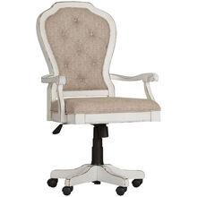 Magnolia Manor Antique White Desk Chair