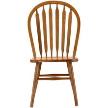 Jefferson Chestnut Arrow Back Side Chair