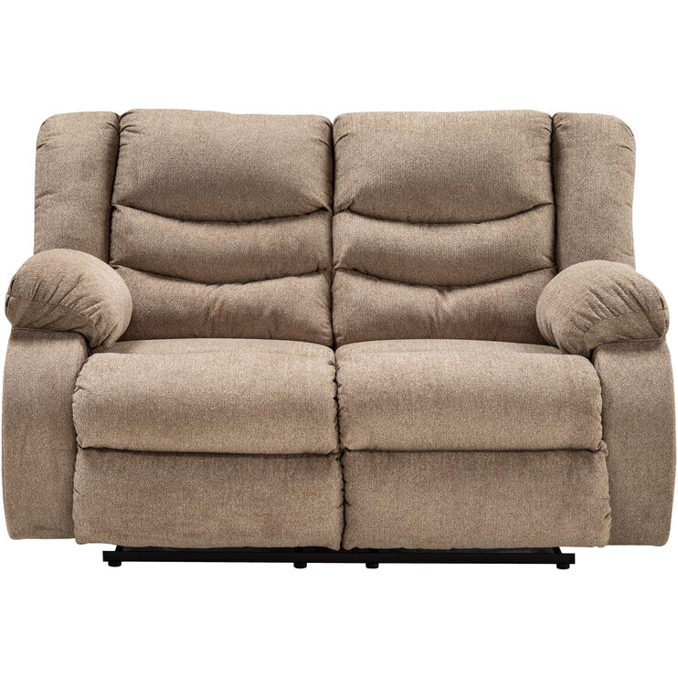 Stupendous Kent Mocha Reclining Loveseat Slumberland Furniture Pabps2019 Chair Design Images Pabps2019Com