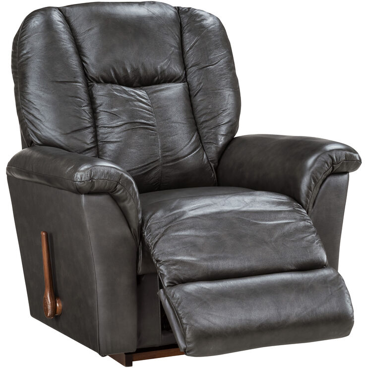 Slumberland Furniture La Z Boy Jasper Smoke Rocker Recliner