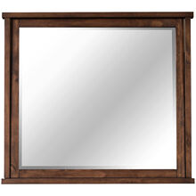 Sun Valley Rustic Timber Mirror