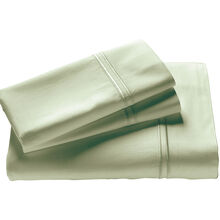 Elements Sage Green Queen Bamboo Pillowcase