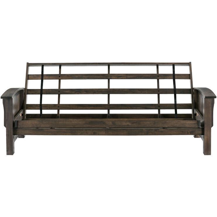 Washington Rustic Walnut Futon Frame